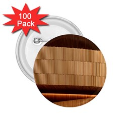 Architecture Art Boxes Brown 2.25  Buttons (100 pack)