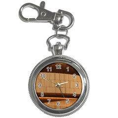 Architecture Art Boxes Brown Key Chain Watches