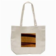Architecture Art Boxes Brown Tote Bag (Cream)