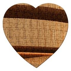 Architecture Art Boxes Brown Jigsaw Puzzle (heart)