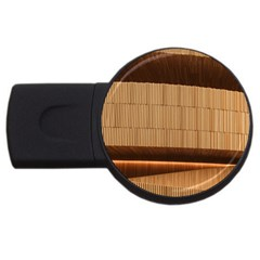 Architecture Art Boxes Brown USB Flash Drive Round (4 GB)