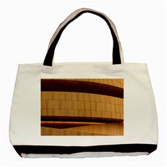 Architecture Art Boxes Brown Basic Tote Bag (two Sides)