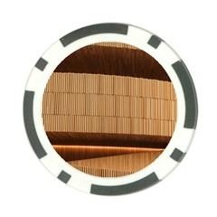 Architecture Art Boxes Brown Poker Chip Card Guards