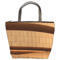 Architecture Art Boxes Brown Bucket Bags