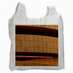 Architecture Art Boxes Brown Recycle Bag (two Side)