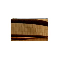 Architecture Art Boxes Brown Cosmetic Bag (small)