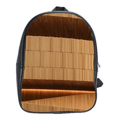 Architecture Art Boxes Brown School Bags(large)