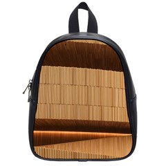 Architecture Art Boxes Brown School Bags (small)