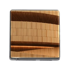 Architecture Art Boxes Brown Memory Card Reader (square)