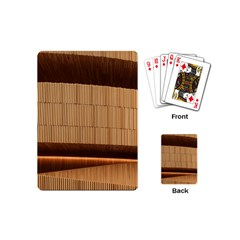 Architecture Art Boxes Brown Playing Cards (mini)