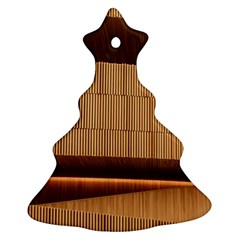 Architecture Art Boxes Brown Christmas Tree Ornament (2 Sides)