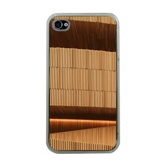 Architecture Art Boxes Brown Apple Iphone 4 Case (clear)