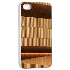 Architecture Art Boxes Brown Apple Iphone 4/4s Seamless Case (white)