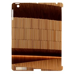 Architecture Art Boxes Brown Apple Ipad 3/4 Hardshell Case (compatible With Smart Cover)