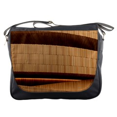 Architecture Art Boxes Brown Messenger Bags