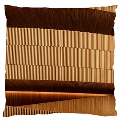 Architecture Art Boxes Brown Large Cushion Case (two Sides)