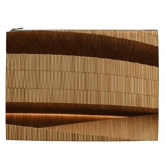 Architecture Art Boxes Brown Cosmetic Bag (xxl)