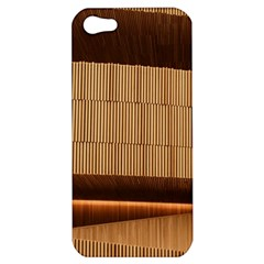 Architecture Art Boxes Brown Apple Iphone 5 Hardshell Case