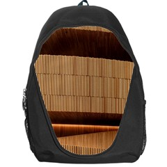 Architecture Art Boxes Brown Backpack Bag