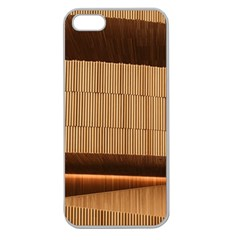 Architecture Art Boxes Brown Apple Seamless Iphone 5 Case (clear)