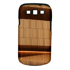 Architecture Art Boxes Brown Samsung Galaxy S Iii Classic Hardshell Case (pc+silicone)