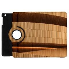 Architecture Art Boxes Brown Apple Ipad Mini Flip 360 Case