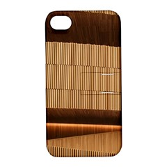 Architecture Art Boxes Brown Apple Iphone 4/4s Hardshell Case With Stand