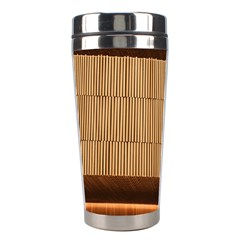 Architecture Art Boxes Brown Stainless Steel Travel Tumblers