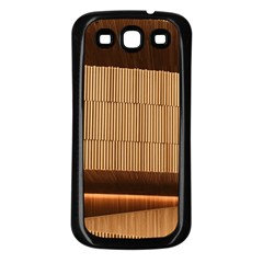 Architecture Art Boxes Brown Samsung Galaxy S3 Back Case (black)