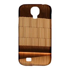 Architecture Art Boxes Brown Samsung Galaxy S4 Classic Hardshell Case (pc+silicone)