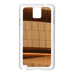 Architecture Art Boxes Brown Samsung Galaxy Note 3 N9005 Case (white)