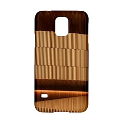 Architecture Art Boxes Brown Samsung Galaxy S5 Hardshell Case