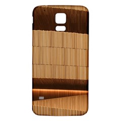 Architecture Art Boxes Brown Samsung Galaxy S5 Back Case (white)