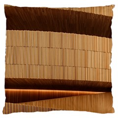 Architecture Art Boxes Brown Standard Flano Cushion Case (one Side)