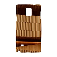 Architecture Art Boxes Brown Samsung Galaxy Note 4 Hardshell Case