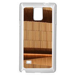 Architecture Art Boxes Brown Samsung Galaxy Note 4 Case (white)