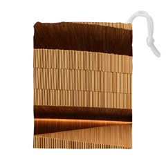 Architecture Art Boxes Brown Drawstring Pouches (extra Large)