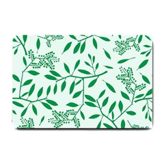 Leaves Foliage Green Wallpaper Small Doormat