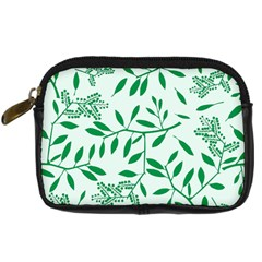Leaves Foliage Green Wallpaper Digital Camera Cases