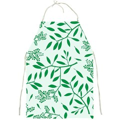 Leaves Foliage Green Wallpaper Full Print Aprons