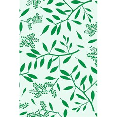 Leaves Foliage Green Wallpaper 5 5  X 8 5  Notebooks