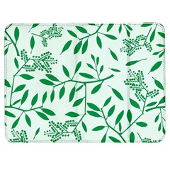 Leaves Foliage Green Wallpaper Samsung Galaxy Tab 7  P1000 Flip Case
