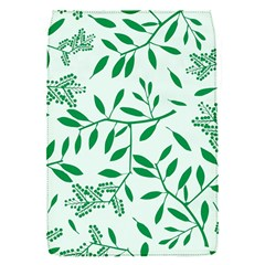 Leaves Foliage Green Wallpaper Flap Covers (s)