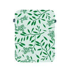 Leaves Foliage Green Wallpaper Apple Ipad 2/3/4 Protective Soft Cases