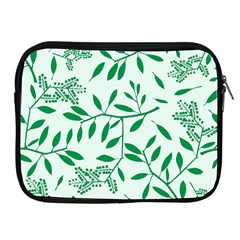 Leaves Foliage Green Wallpaper Apple Ipad 2/3/4 Zipper Cases