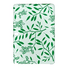 Leaves Foliage Green Wallpaper Samsung Galaxy Tab Pro 10 1 Hardshell Case