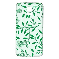 Leaves Foliage Green Wallpaper Samsung Galaxy S5 Back Case (white)