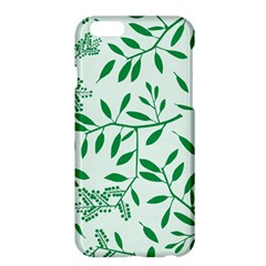 Leaves Foliage Green Wallpaper Apple Iphone 6 Plus/6s Plus Hardshell Case