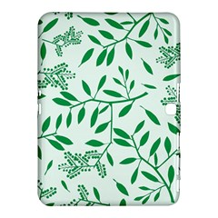 Leaves Foliage Green Wallpaper Samsung Galaxy Tab 4 (10 1 ) Hardshell Case
