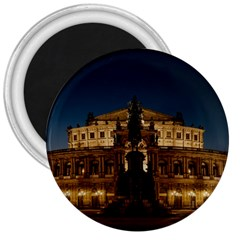 Dresden Semper Opera House 3  Magnets